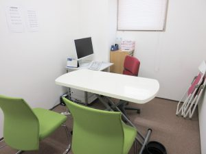 臨床心理士の相談室